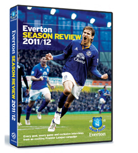 Everton 2011/12 Season Review (DVD)