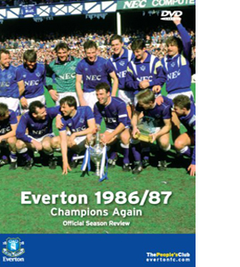 Everton FC - Champions Again! 1986/1987 Season Review (DVD)