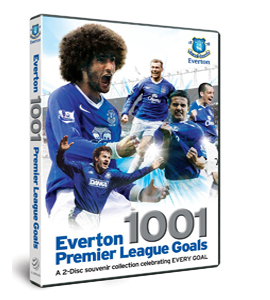 Everton's 1001 Premiership Goals (DVD)