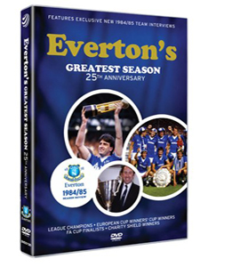 Everton's Greatest Season 1984/85 Season Review (DVD)