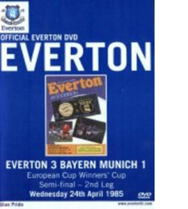 Everton v Bayern Munich European Cup Winners Cup Semi Final 1985