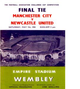 FA Cup 1955 Newcastle United (Postcard)