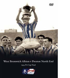 FA Cup Final 1954: WBA v PNE (DVD)