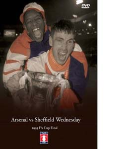 FA Cup Final 1993: Arsenal v Sheffield Wednesday (DVD)