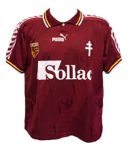 FC Metz 1996-97 Home Shirt