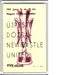 Fairs Cup Final Away (Fridge Magnet)