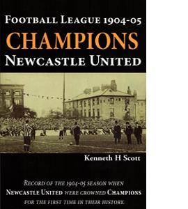 Football League 1904-05. Champions- Newcastle United. (HB)