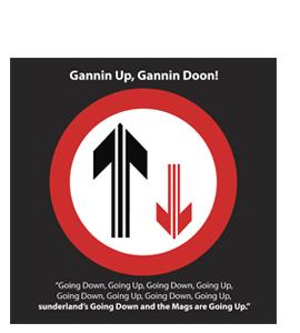 Gannin Up, Gannin Doon! (Greetings Card)