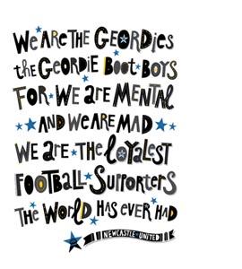 Geordie Boot Boys (Print)