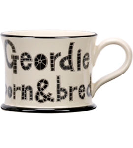 Geordie Born And Bred (Mug)