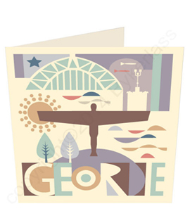 Geordie City Card