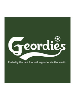 Geordies Carlsberg (Greetings Card)