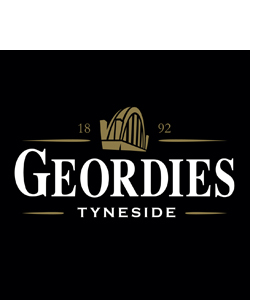 Geordies Guinness (Glass Coaster)