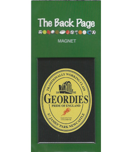 Geordies Pride of England Guinness 2 (Fridge Magnet)