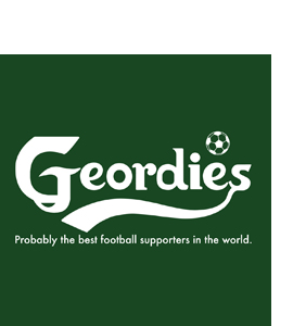 Geordies: Probably The Best Football Supporters (Glass Coaster)
