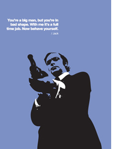 Get Carter, Pop Art (Greeting Card)
