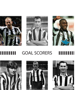 Goal Scorers Newcastle United (Greeting Card)