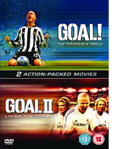 Goal! - The Impossible Dream / Goal 2 - Living The Dream (DVD)