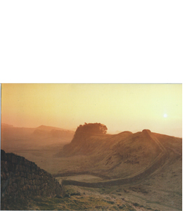 Hadrian's Wall, Roman Wall, Northern England (Greeting Card)