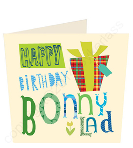Happy Birthday Bonny Lad Geordie Card