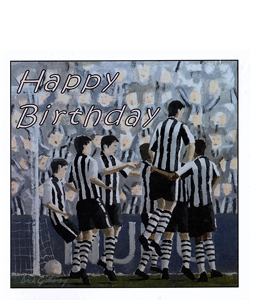 Happy Birthday- Dick Gilhespy (Greetings Card)