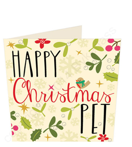 Happy Christmas Pet (Greeting Card)