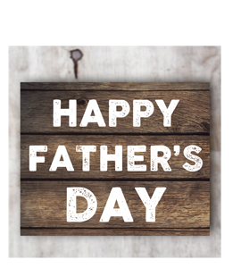 Happy Father's Day (Greetings Card)