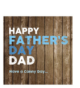Happy Father's Day, Have a Canny Day (Greetings Card)