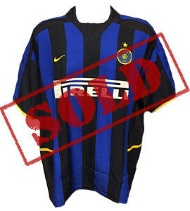 Inter Milan 2002-03 Home Shirt