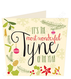 It's The Most Wonderful Tyne of the Year (Greeting Card)