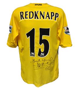 Jamie Redknapp Tottenham 2004/05 Shirt (Match Worn)
