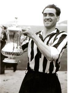 Joe Harvey Newcastle United Footballer (Postcard)
