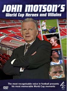 John Motson's World Cup Heroes And Villains (DVD)