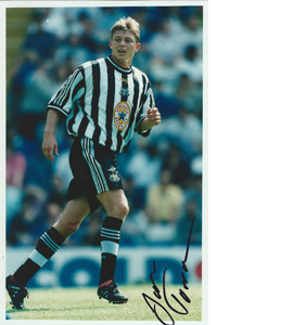 Jon Dahl Tomasson Newcastle Photo (Signed)
