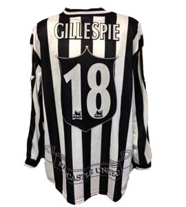 Keith Gilhespie Newcastle United Home Shirt 1998/99 (Match-Worn)
