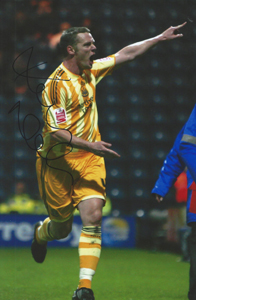 Kevin Nolan Newcastle Photo (Signed)