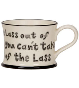 Lass Out Of Newcastle (Mug)