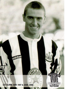 Lee Clark Newcastle United Heroes (Postcard)