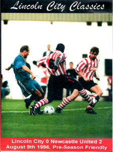 Lincoln City 0 Newcastle United 2 - Shearers Debut (DVD)