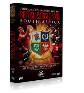 Lions Tour Of South Africa - Complete Test Series (DVD)