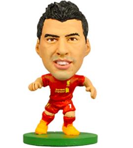 Liverpool Soccer Starz Luis Suarez