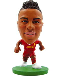 Liverpool Soccer Starz Raheem Sterling