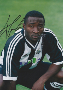Lomana LuaLua Newcastle Photo (Signed)