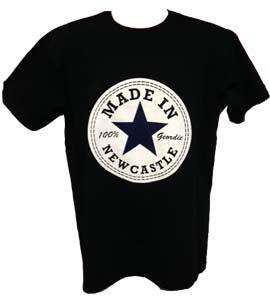 Made In Newcastle 100% Geordie - Black (T-Shirt)