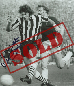 Malcolm Macdonald Newcastle Photo (Signed)
