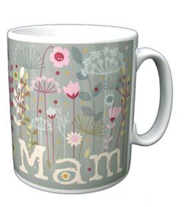 Mam Floral Mug