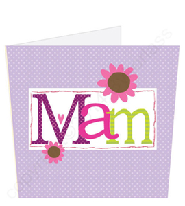 Mam - Mothers Day Lavender Card