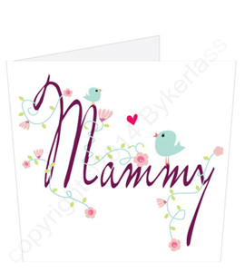 Mammy Birdies Mothers Day Card