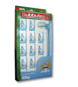 Manchester City Subbuteo Team