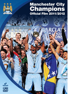 Manchester City Champions - The Official Film 2011/2012 (DVD)